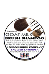 Pure Goat Milk Solid Brush Shampoo: English Lavender