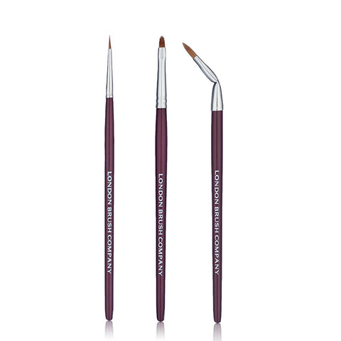 Makeup Brush Set: In Love With Eye Lines - 3 Piece for Eyes