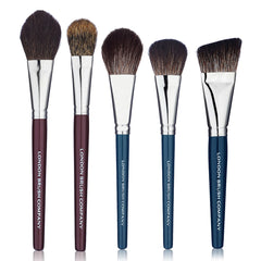 Makeup Brush Set: Last Looks  - 5 Piece