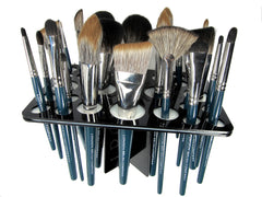 Makeup Brush Rack - for 26 Brushes