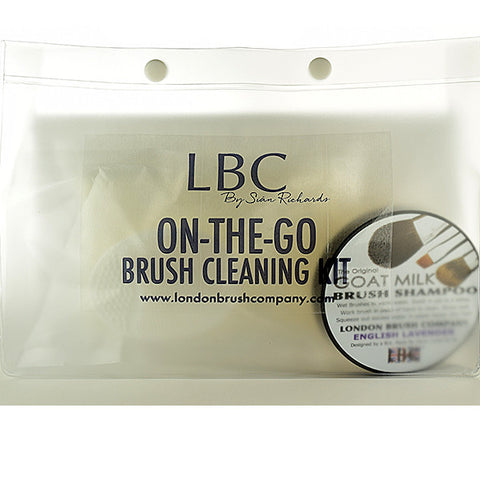 On-The-Go Brush Cleaning Kit: Goat Milk
