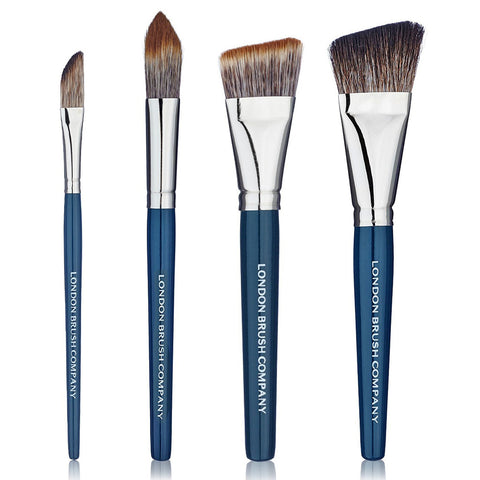 Makeup Brush Set: Complete Contour - 4 Piece