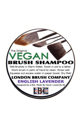 Vegan Solid Brush Shampoo: English Lavender