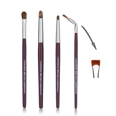 Makeup Brush Set: Windows Of The Soul - 5 Piece for Eyes