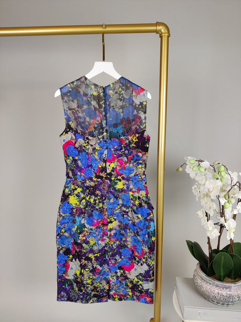 Erdem Multicolour Floral Dress (UK 8)