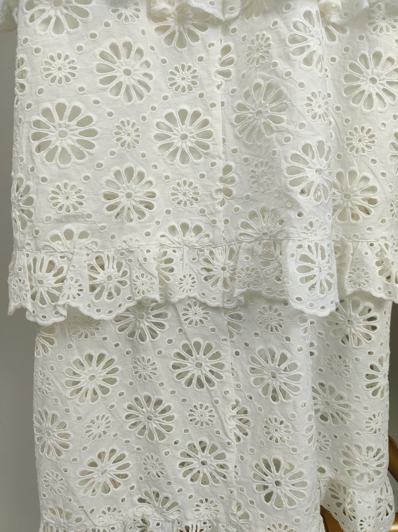 Zimmermann White Dress Size 2 (UK12)