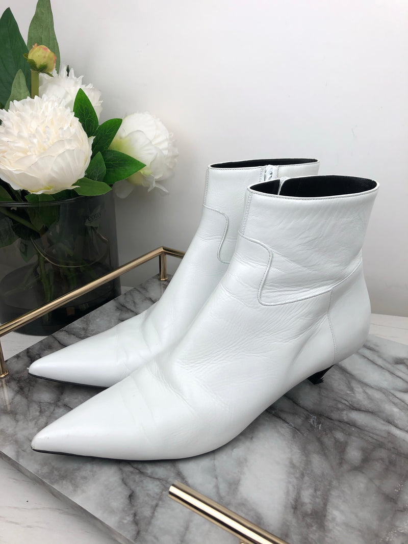 Balenciaga Knife Ankle Boots Size 38