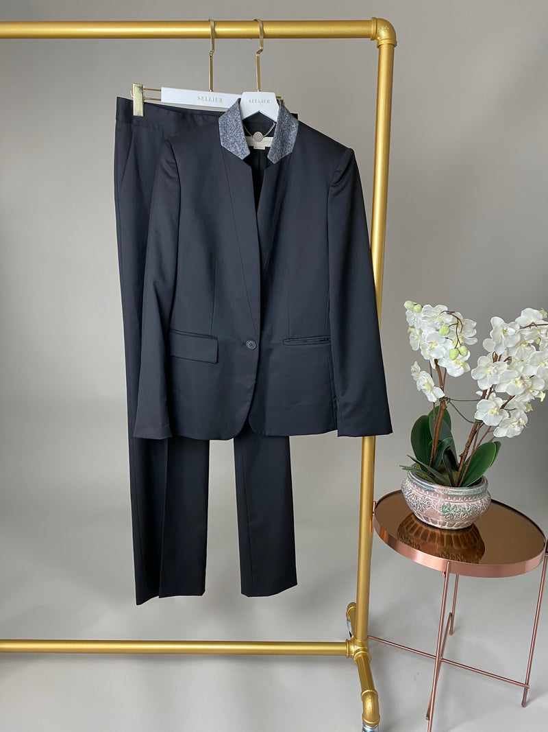 Stella McCartney Black Suit Set Size 38/40