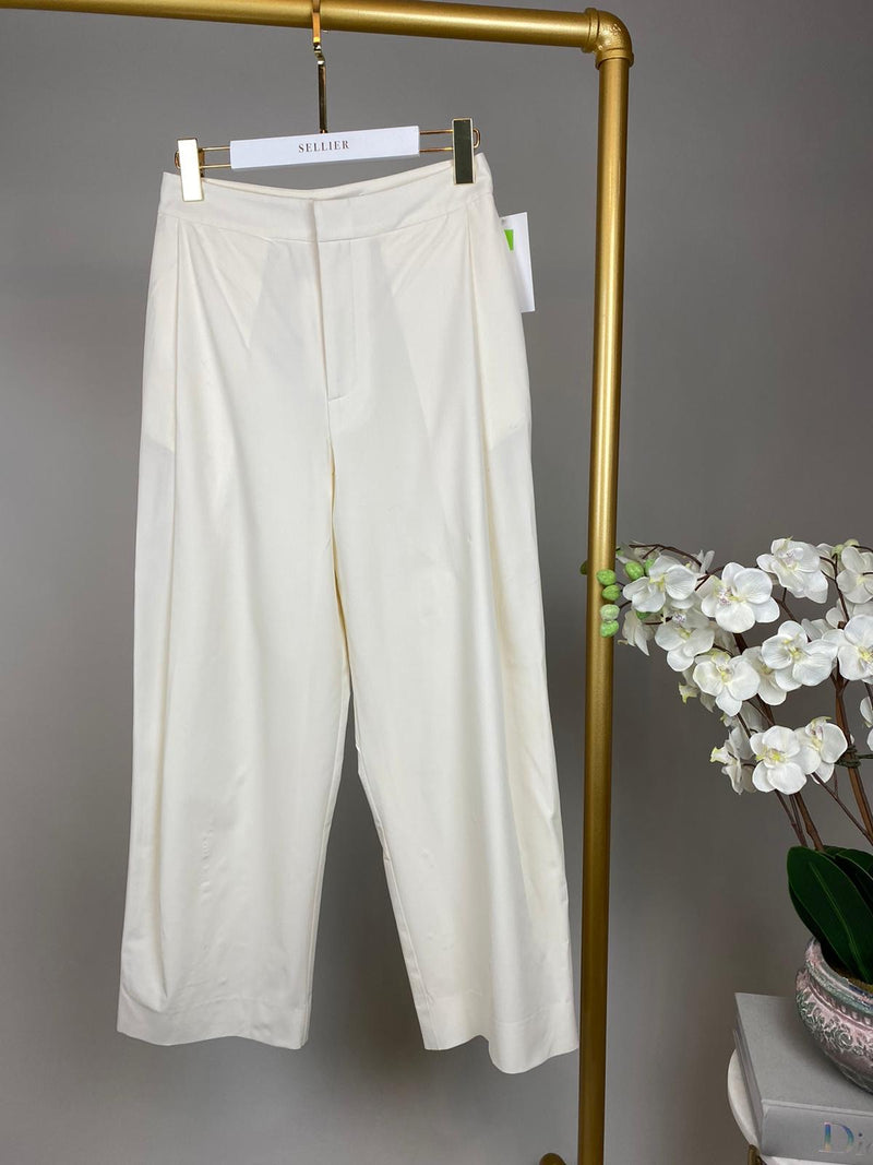 Georgia Alice White Tailored Trousers Size UK6