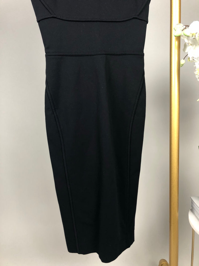 DSquared2 Black Pencil Dress Size S (UK 8)