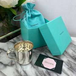 Tiffany Classic Baby Cup in Silver