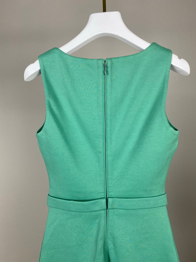 DSquared2 Green Pencil Dress with Bow Size S (UK 8)