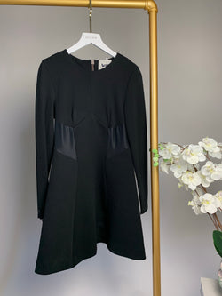 Acne Long Sleeve Black Dress (UK 6)
