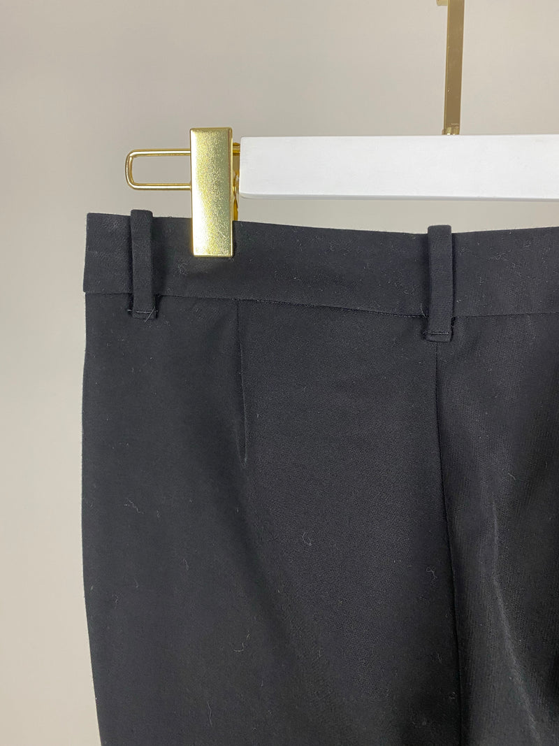 Gucci Black Trousers with Zip Detail Size 38 (UK 6)