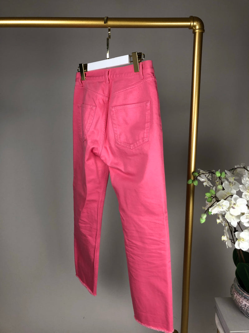 Celine Pink Denim Jeans Size 36 (UK8) RRP £680