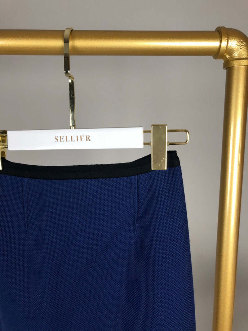 Roland Mouret Blue Pencil Skirt Size (UK 8)