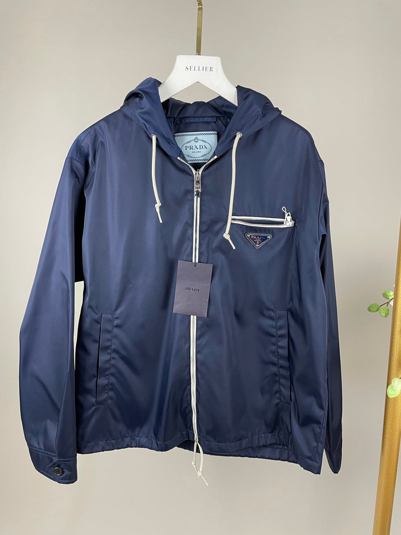 Prada Nylon Rain Mac Jacket Size 40 (UK8)
