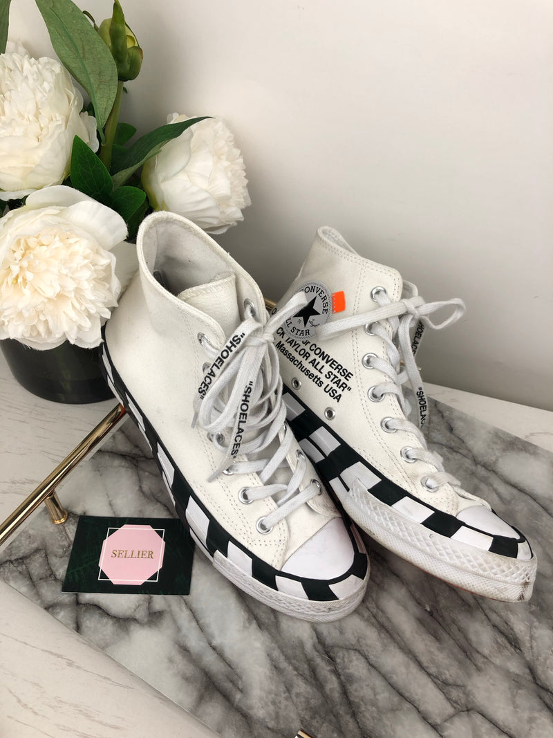 Off-White Chuck Taylor Limited Edition Converse Size 38 (UK 5.5)