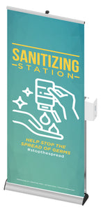 Bannitizer Sanitizing Station