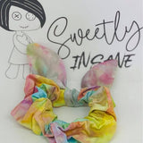 Sweetly Insane Scrunchie with Bows