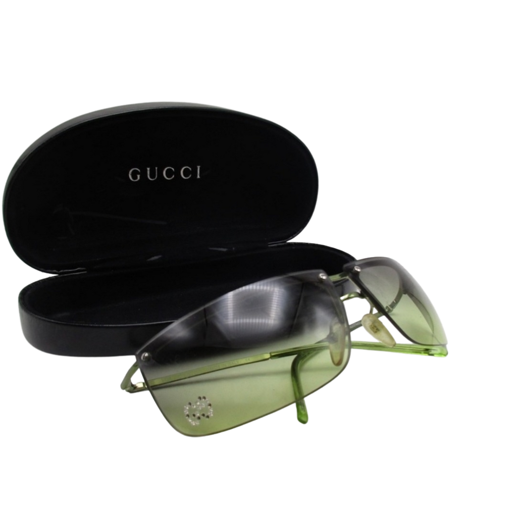 Gucci by Tom Ford Green Rhinestone Sunnies