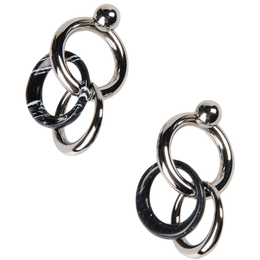 Alexander Wang Mixed Link Earrings