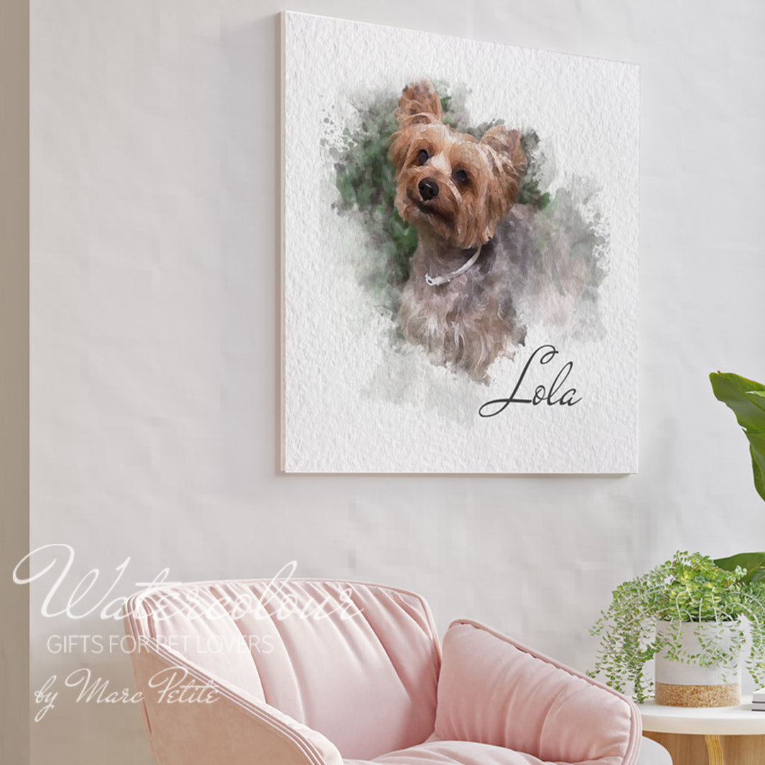 Personalizes & Custom Dog Portraits