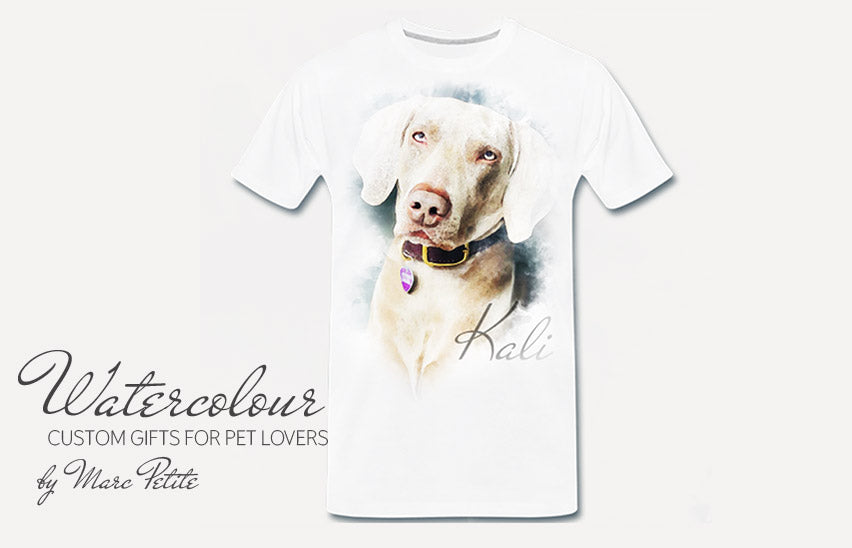 Custom & Personalized dog t shirts for humans