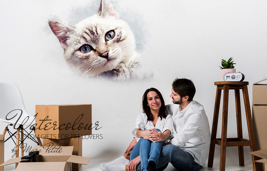 Personalized Murals - Cats