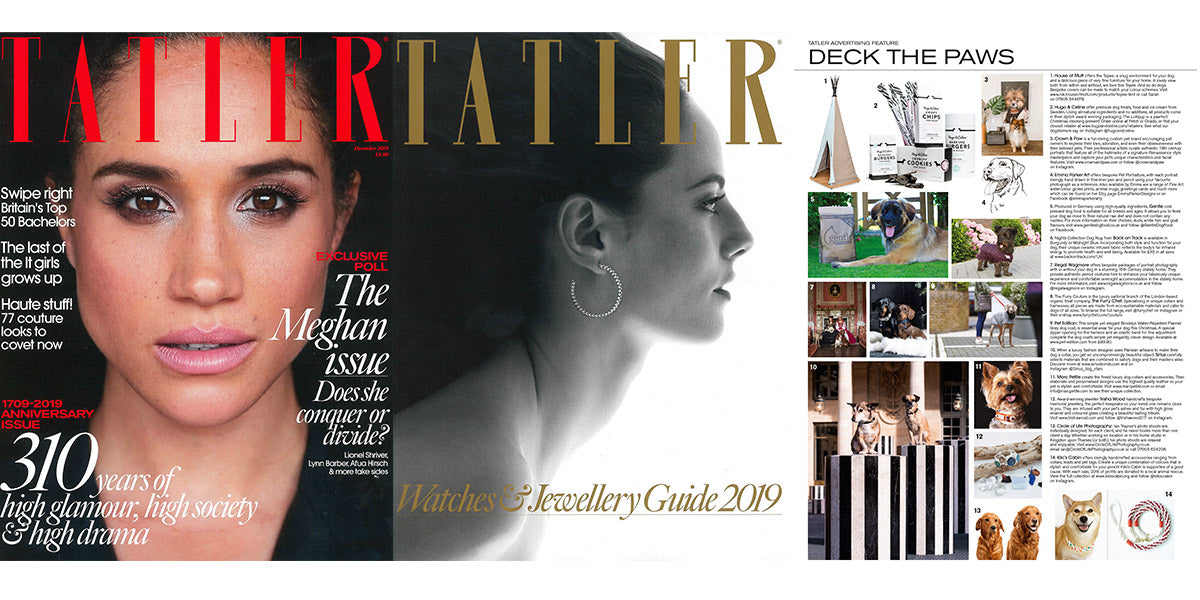 Marc Petite in the Tatler Magazine