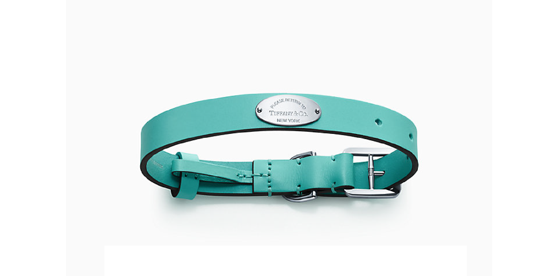 Tiffany & Co. dog collars