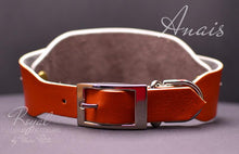 Load image into Gallery viewer, Soft Leather Dog Collar