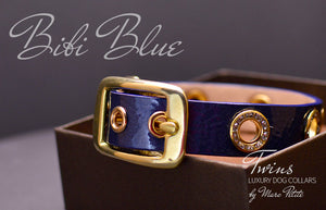 Chic dog collars for toy breeds