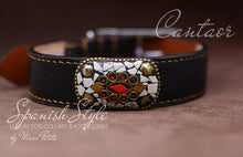 Load image into Gallery viewer, Luxury Dog Collar in genuine leather