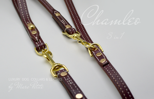 Chamleo - 3 in 1 Leather Dog Leash