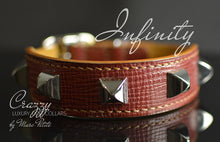 Load image into Gallery viewer, High-End Leather Dog Collar with Spikes