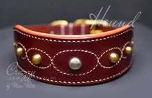 Load image into Gallery viewer, Handmade Hound dog collar