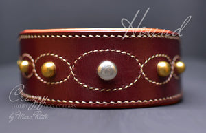 Greyhound dog collar