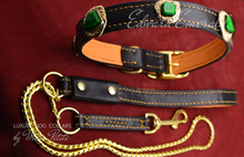 Load image into Gallery viewer, Royal Dog Collar and Leash