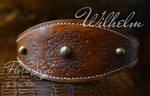 Engraved dog collar