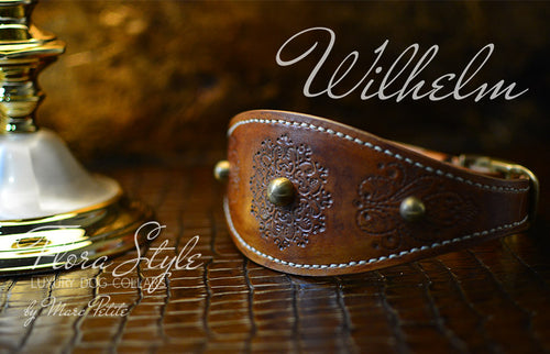 Leather Sighthound Collars