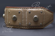 Charger l'image dans la galerie, Handmade leather collar for large breeds