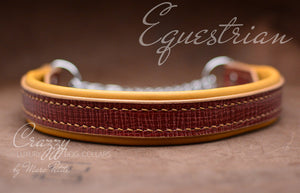 Elegant, extra strong & durable martingale collar