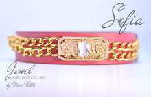 Load image into Gallery viewer, Royal  Dog Collar - Rose 24K Gold - Marc Petite
