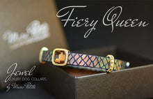 Load image into Gallery viewer, Exclusive Designer Dog Collar Snake