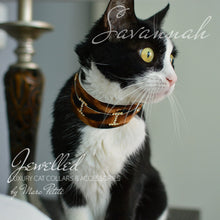 Load image into Gallery viewer, Exotic Luxury Cat Collar