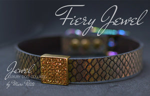 Holographic Luxury Dog Collar by Marc Petite