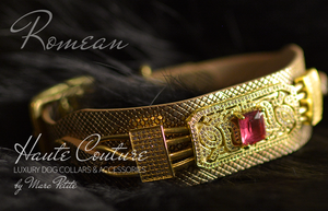 24 karat, 14 karat , 18k gold dog collar