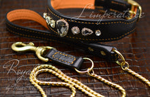 Charger l'image dans la galerie, Royal Dog Collar & Leash