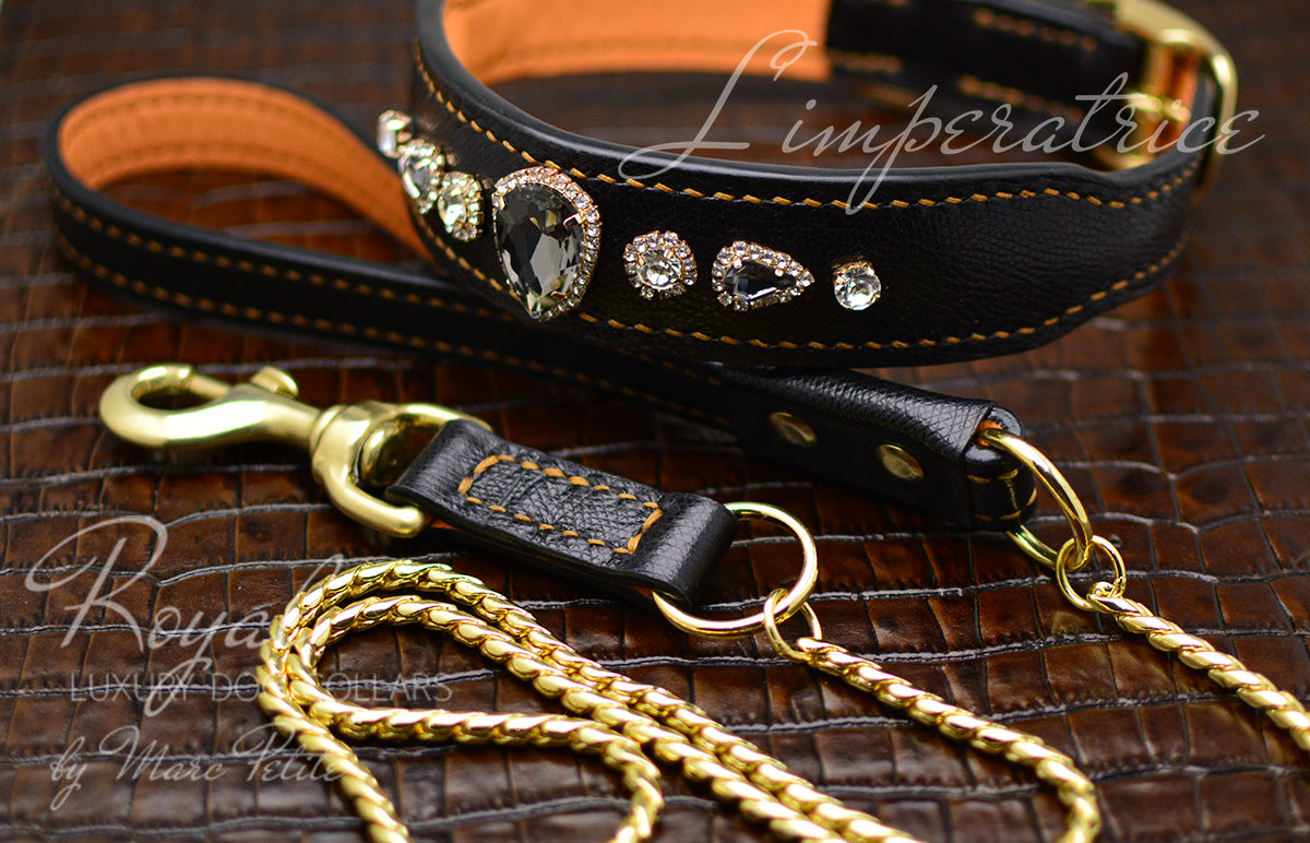 Royal Dog Collar & Leash